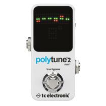 Pedal Afinador Tc Electronic Polytune Mini 2 - Produto Novo