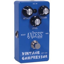 Pedal De Efeito Vintage Compressor Axcess By Giannini Cp109