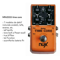 Pedal Nux Time Core Original Com Nfe E Garantia 1 Ano