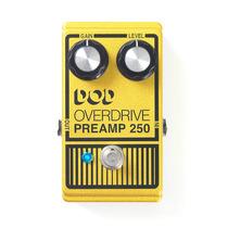 Pedal Overdrive Para Guitarra Preamp 250 - Dod Frete Grátis!