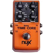 Pedal Nux Time Core Delay - Loja Física E Oficial Nux