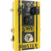 Pedal Power Booster Fire Custom Shop