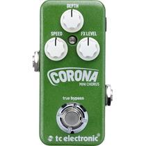 Pedal Tc Eletronic Corona Mini Chorus - Nota Fiscal Original