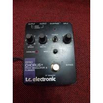 Pedal Tc Electronic Chorus, Pitch Modulator & Flanger