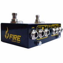 Pedal De Efeiro Fire Loop Trail Para Guitarra (dual Looper )