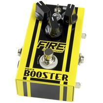 Pedal Fire Custom Shop Power Booster Boost - 12x Sem Juros