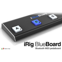 Pedaleira Irig Blueboard Ik Multimidia Midi Nova Blue Board