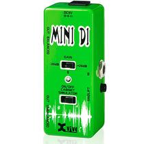 Micro Di Direct Box Pedal Guitarra Baixo Xvive Estilo Mooer
