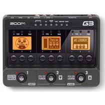 G3 Pedaleira Zoom G3 Usb Superior G2nu G2.1nu