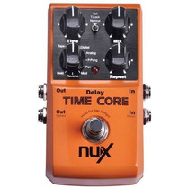 Pedal Delay/loop Nux Time Core Pronta Entrega