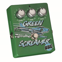 Pedal Green Screamer Overdrive Bbe