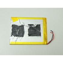 Bateria 3.7v 2800mah Tablet Qbex Zupin Tx120 Nova Garantia