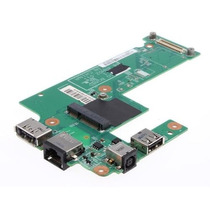 Placa Power Jack Hdmi Rede Usb Ent. Font Dell Inspiron N5010