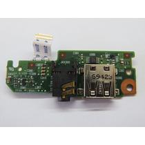 Placa De Audio + Usb Do Hp Mini 110 581325-001