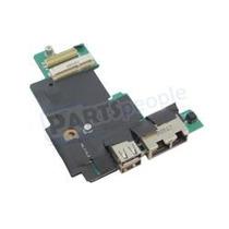 Placa Usb Io Board Dell E5410 Usb / Rj-45 Fhyhd Wwan - Usada