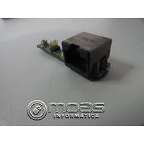 Placa Conector Rede Rj45 Positivo Mobile Z80 Z85 Z68 V52