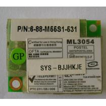 Cód.93 Placa De Fax Modem Notebook Positivo Z63 - Ml3054