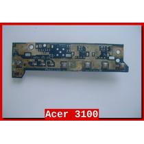 Placa Botão Power Usb Acer 3100 3690 5100 5110 5650 Séries