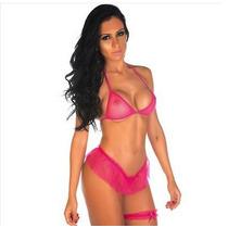 Sexshop -kit Fantasia Sexy Barbie + Produtos Sensuais