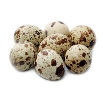 Ovos Galados De Codornao Branco E Marrom