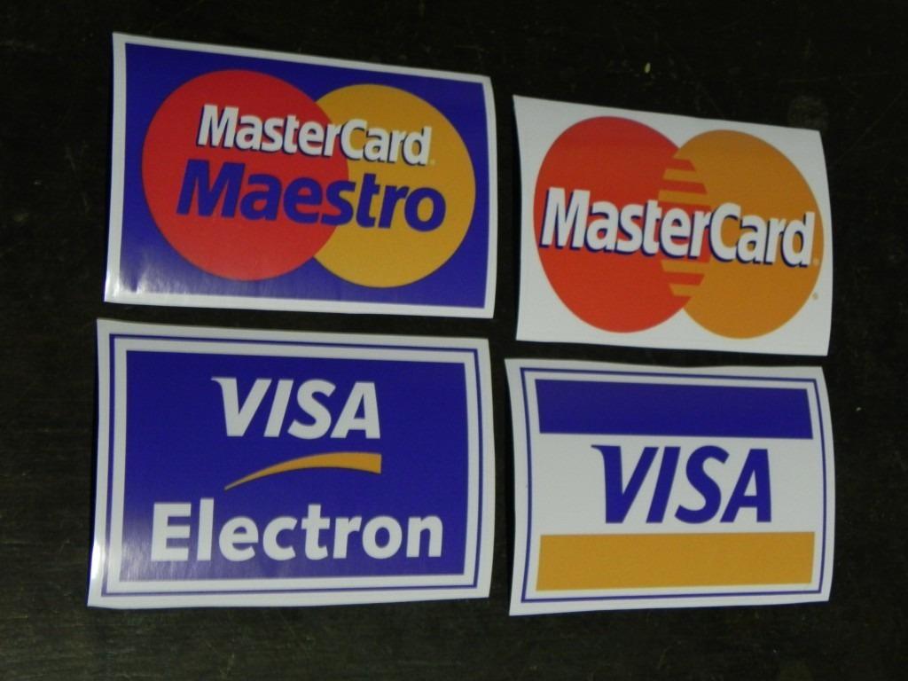 de visa master card:
