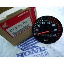 Velocímetro Cg 125 85 À 89 Novo Original Honda Cx.