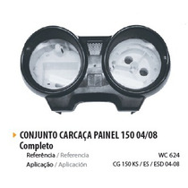 Painel Completo Prata Moto Cg 150 2004/05/06/07/08