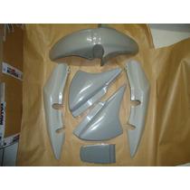 Kit Plasticos Cg 150 Titan 2004 / 2008 Sem Pintura