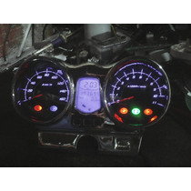 Painel Honda Cbx Twister 250 Com Caraça Sup. Cromada E Leds