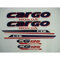Faixa Adesiva Cg Titan 125 Cargo Branco 95/97 Lucas Motos