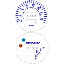 Kit Acrilico P/ Painel - Cod435v140 - Cg Injeção Eletronica