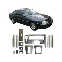 Kit Painel Aço Escovado Chevrolet Omega 92 A 1998 Painelkit