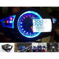 Painel Digital Moto Honda Yamaha Suzuki Kawasaki Pront Entre