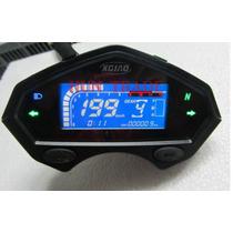 Painel Velocimetro Digital Universal Para Motos