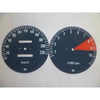 Velocímetro E Contagiros Da Moto Cbx 750 ( 7 Galo Redondo)