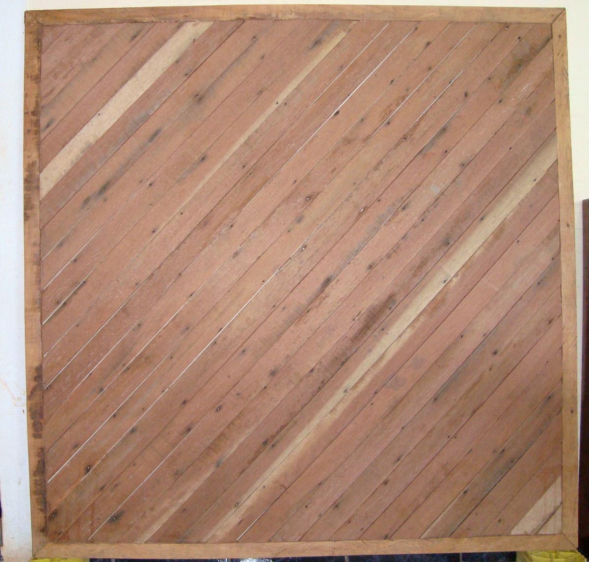 Painel De Madeira De Demolição Varios Tipos De Madeiras. R$ 470  #8E723D 1200x1145