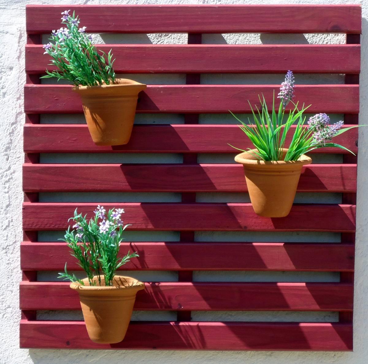 Painel De Madeira Para Jardim Vertical Réguas Framboesa R$ 89 80  #A02B37 1200x1187