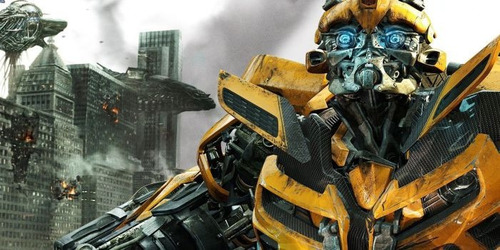 Painel Decorativo Festa Transformers Bumblebee [2x1m] (mod2)  R$ 89