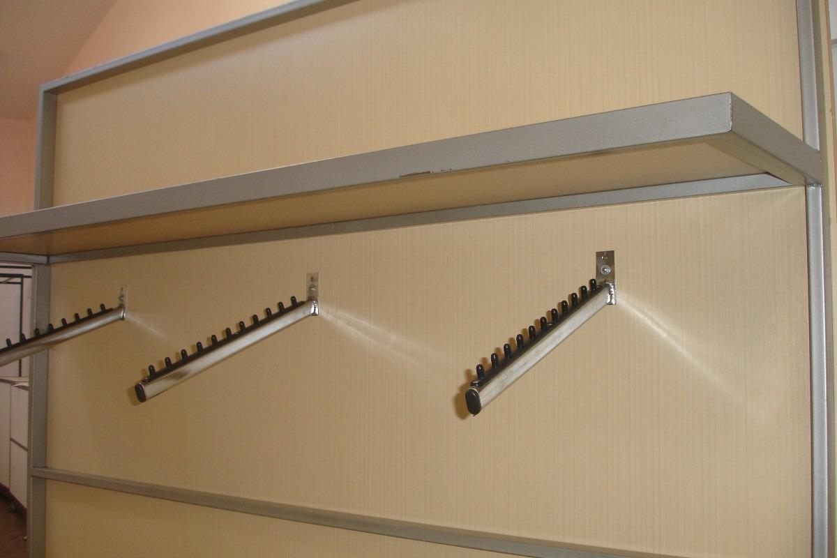 Painel / Expositor Estrutura Metalom E Madeira R$ 400 00 no  #634B31 1200x800