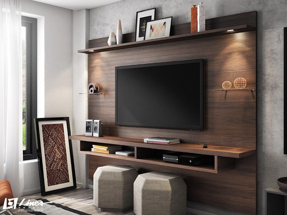 Home com painel sala de tv id ias for E home com