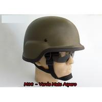 Capacete M88 Verde Áspero Airsoft - Paintball - Frete Grátis