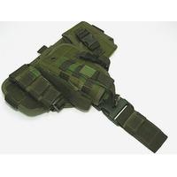 Coldre Tático Para Pistolas - Ripstop - Verde Oliva