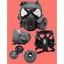 Lançamento Mascara M04 Airsoft Com Fan Estilo Gás Toxic