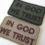 Patch Bordado In God We Trust - Ato De Coragem - Act Of Valo