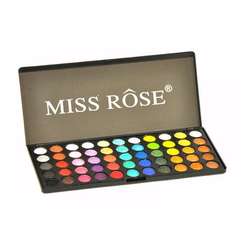 Paleta De Sombras 3d Miss Rose 55 Colors