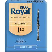 Palheta Rico Royal Clarinete Bb 1.5 Rcb1015 Com 10 Und