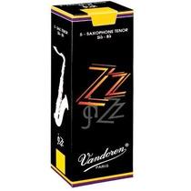 Palheta Sax Tenor 2,5 Vandoren Zz Jazz Sr4225 Cx 5 Und.
