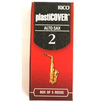 Palheta Sax Alto Rico Plasticover Nº 2 Rrp05asx200 5 Und.
