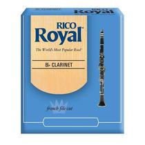 Palheta Rico Royal 1,5 Para Clarinete - Unidade, 01706