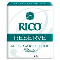 Palheta Sax Alto Rico Rjr1025 Reserve Class 2,5 - Unid 00640